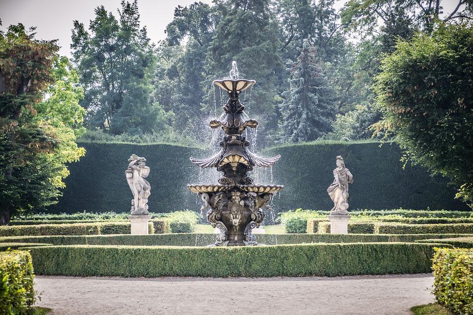 fontána v Lednici