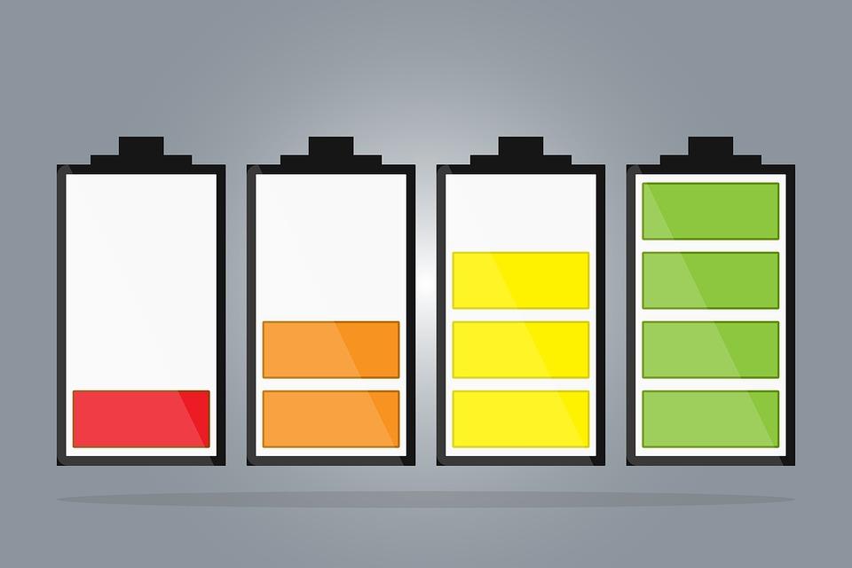 nabití baterie