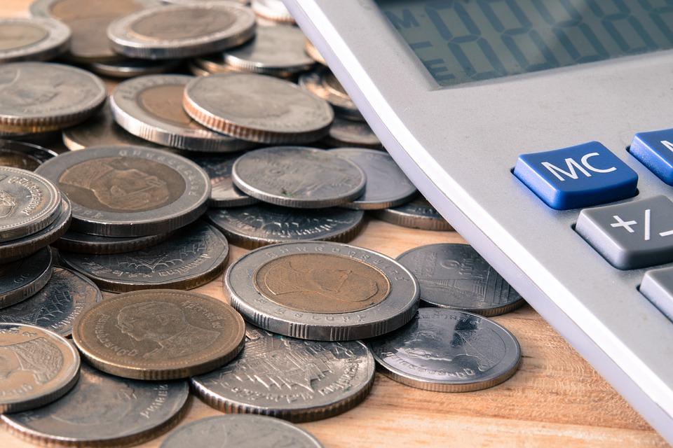 počítání mincí